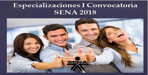 especializaciones sena2018